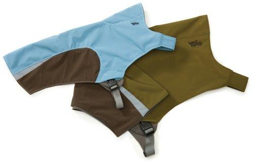 West Paw Design Cloudburst Dog Jacket, Large, Sky Blue, My Pet Supplies