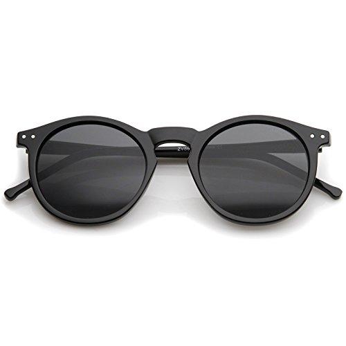 zeroUV-Retro-Horn-Rimmed-Keyhole-Nose-Bridge-P3-Round-Sunglasses-49mm