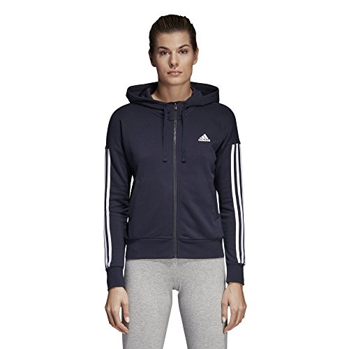 streifen 3 Adidas de completa con chaqueta cremallera Legwarmer Essentials blanco wHHEO