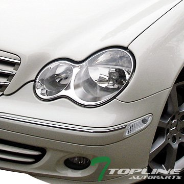 Topline Autopart Chrome Clear Lens Parking Bumper Side for sale  Delivered anywhere in USA