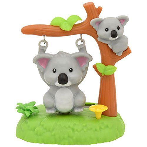 Miniature Solar Powered Swinging Koala - 3 x 4.25 Inches