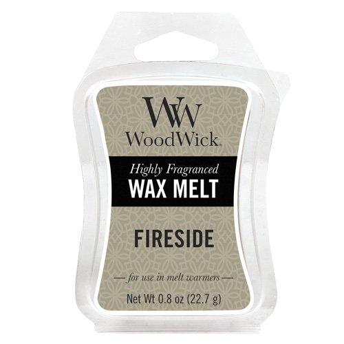 Woodwick Mini Wax Melt Fireside, Grey 57106