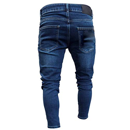 930186dbad998 SHOPUS | Men New Distressed Jeans, Oliviavan Fashion Hollow Zipper ...