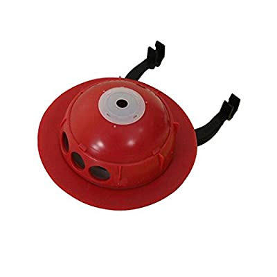 """Korky 2023BP Universal Flapper for Toto Toilet Repairs, 3"""", Red"""