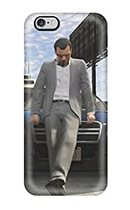 New Style Bareetttt Hard Case Cover For Iphone 6 Plus- Gta V