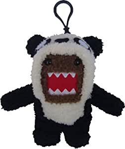 Licensed 2 Play Domo Panda Plush Novelty Doll Clip On
