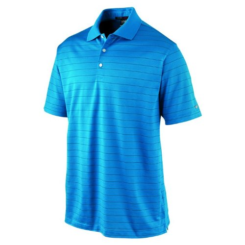 08cfac999 Nike Men s Tiger Woods Collection Dri-FIT Texture Stripe Golf Polo Shirt