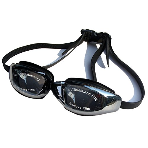 154d2a4de35 Langca High Quality Corrective Nearsighted Swimming Goggles(Prescription 2.0 -8.0 Diopters) (black-5.0) - Buy Online in Oman.