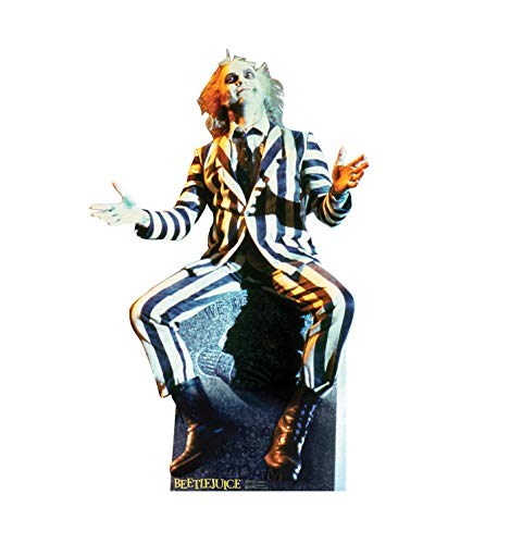 Advanced Graphics Beetlejuice Life Size Cardboard Cutout Standup - Beetlejuice (1988 -