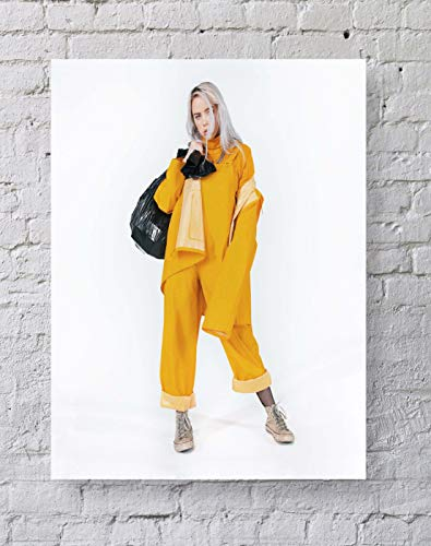 MeiMeiZ Billie EILISH Poster Standard Size | 18-Inches by 24-Inches |Billie EILISH Posters Wall Poster Print