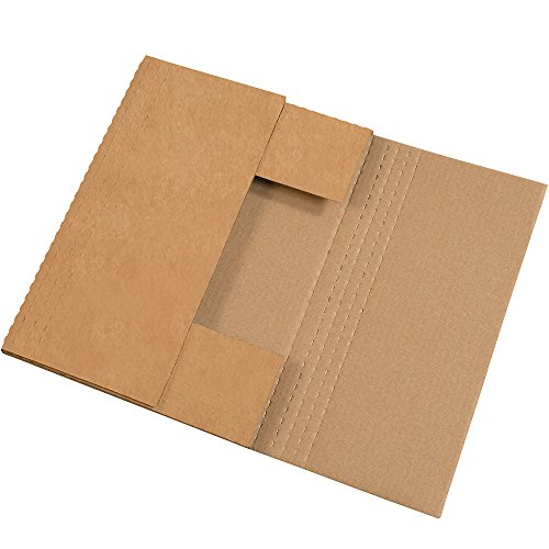 "Wholesale Aviditi M20162BFK Easy-Fold Mailer, 20"" Length x 16"" Width x 2"" Height, Kraft (Bundle of 50) supplier"
