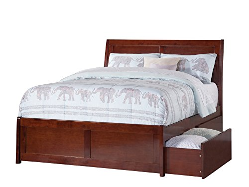 Atlantic Furniture AR8936114 Portland Bed Full ()