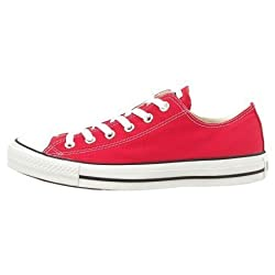 Converse All Star OX Unisex Canvas Style# M9696 (4.5 M US, Red)