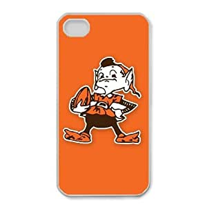 iPhone 4,4S Phone Cases NFL Cleveland Browns Cell Phone Case TYC768704