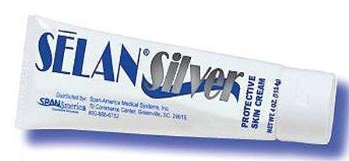 Selan Protective Cream (Selan Silver Protective Skin Cream 4oz Bottle)