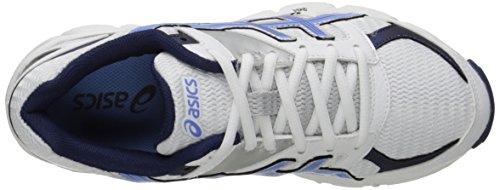 Asics Womens GEL-190 TR Cross-Training Shoe White/Periwinkle/Midnight Navy