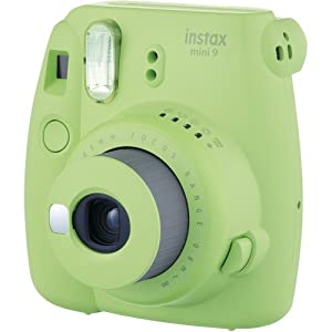 Fujifilm Instax Mini 9 Instant Camera LIME GREEN w/ Fujifilm Instax Mini 9 Instant Films (20 Pack) + A 14 Pc Deluxe Bundle For The Fujifilm Instax Mini 9 Camera