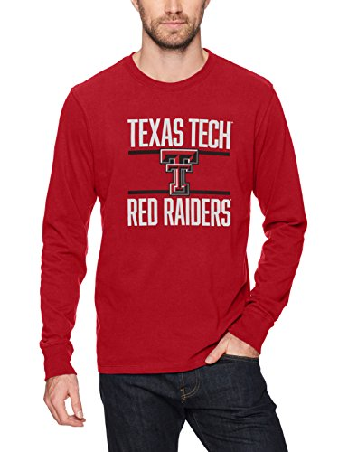 - NCAA Texas Tech Raiders Men's Ots Rival Long sleeve Tee, Medium, Red