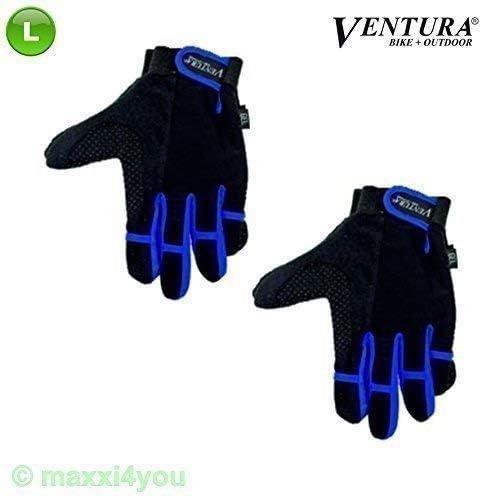Ventura Fahrradhandschuhe Fahrrad Handschuhe mit Geleinlage Gr M-XL