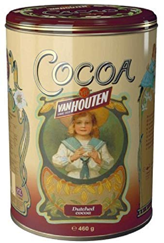 Van Houten Cocoa Powder Yellow Tin 460g
