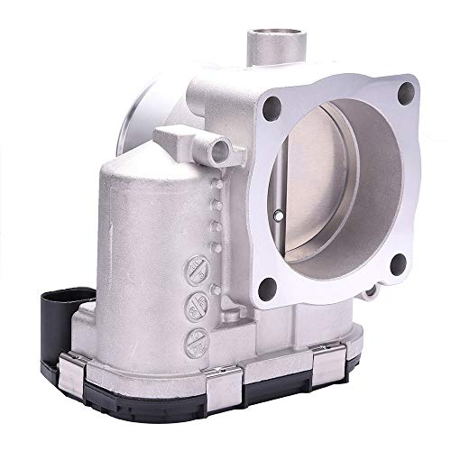 OCPTY New Electric Throttle Body Replace 06B133062B, 06B133062M Fuel Injection Throttle Body Assembly fit for 2000-2006 Audi A4 /2000-2006 Audi A4 Quattro /1999-2005 Volkswagen Passat