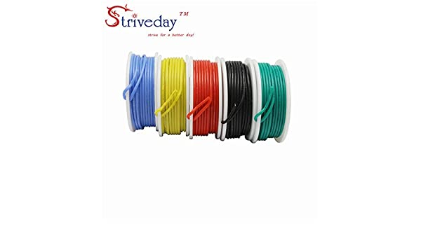 30m 20AWG silicone wire twisted wire tinned copper wire and cable box wire