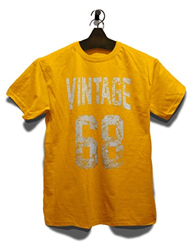 T 1968 Taglie Vintage shirt Diversi Giallo Colori wp0Txvqx8