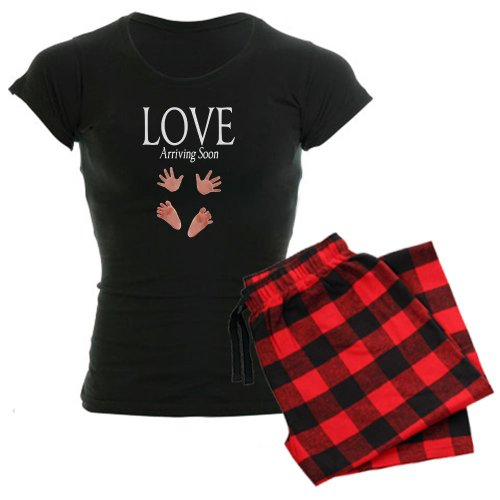 CafePress Arriving Maternity Comfortable Sleepwear