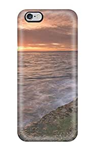 Durable Defender Case For Iphone 6 Plus Tpu Cover(sunset Earth Nature Sunset)