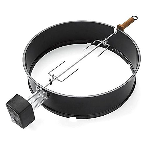 ecBuddy Grill BBQ Electric Rotisserie Kettle Cooking Charcoal Grills One Touch by ecBuddy