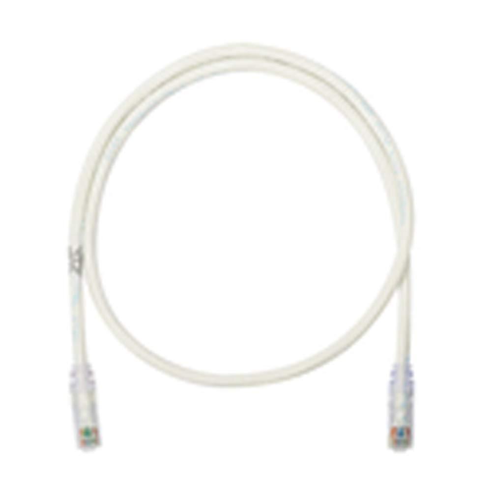 Panduit NetKey 14Ft. Cat6 Patch Cord-Off White