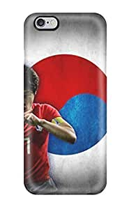 Durable Protector With Park Ji-sung Hot Design For Case Cover For SamSung Galaxy S6 (3D PC Soft Case)