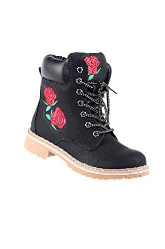 Print Floral Hadari Boots Stylish Hadari Boots Womens Ankle Stylish Print Floral Womens Ankle Hadari qSxYPwAvU