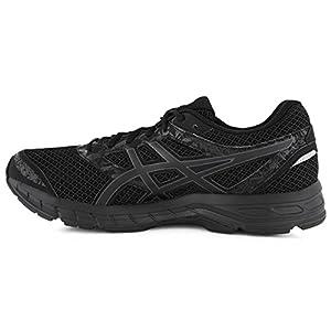 ASICS Mens Gel-Excite 4 Running Shoe, Black/Carbon/Black, Size 11.5