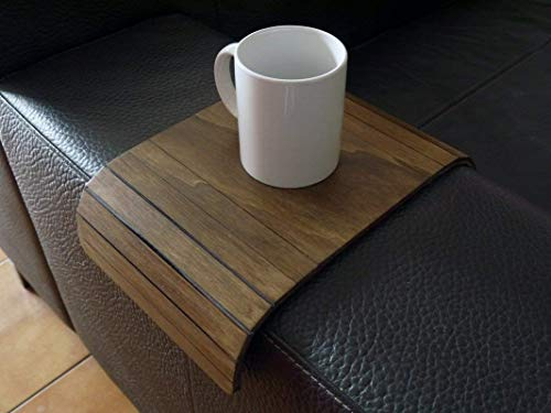 Groovy Wooden Flexible Sofa Table For Armrest In Many Colors As Ncnpc Chair Design For Home Ncnpcorg