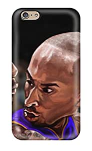 Durable Cases For The Iphone 6- Eco-friendly Retail Packaging(kobe Bryant And Lebron James)