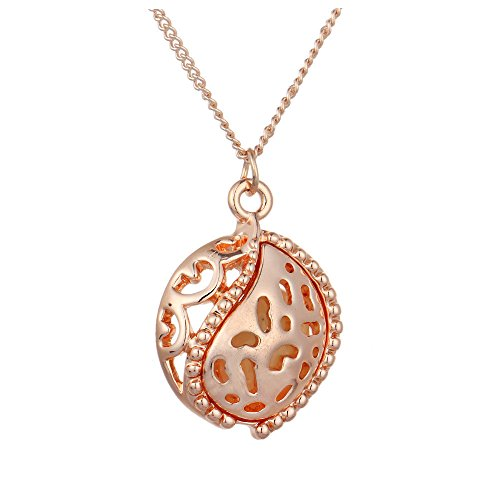 Price comparison product image Luminous Steampunk Magic Fairy Locket Glow In The Dark Pendant Necklace Jewelry,N3003-5