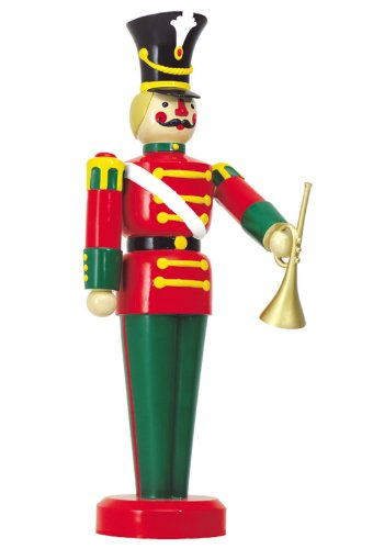 Large Life Size Toy Soldier with Trumpet Outdoor Christmas Decorations [DS 55-10032]
