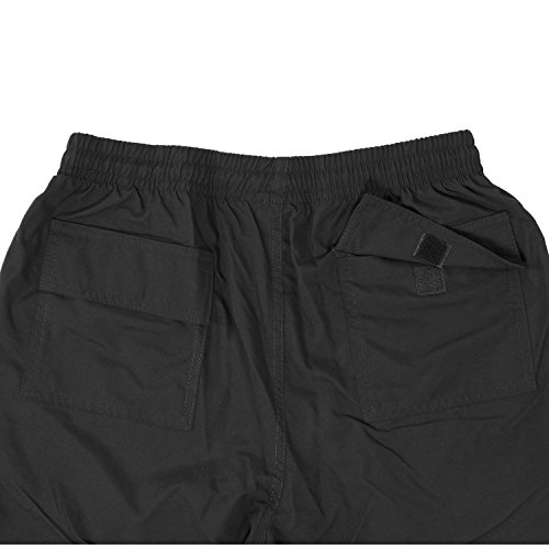 a Sportswear fino Pantaloni dimensioni 10xl Ahorn microfibra sportivi di grandi neri in di CwPw6xX4nq