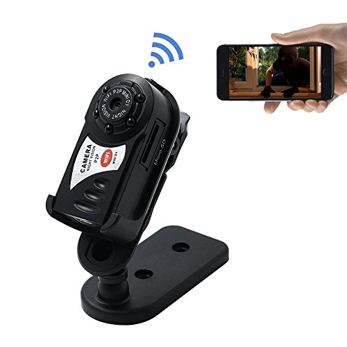Tangmi Mini P2p Hd Wifi Spy Camera Portable Wifi Ip Camera