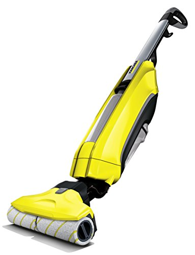 Karcher FC 5 Hard Floor Cleaner, Yellow (Best Steam Cleaner For Porcelain Tile Floors)