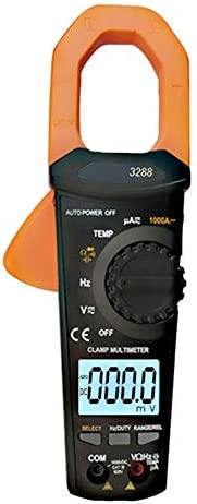 VC 3287 Digital Clamp Multimeter AC DC 1000A Automatic Range Large Capacitance Frequency Clamp Meter for Factory and Other Social Fields