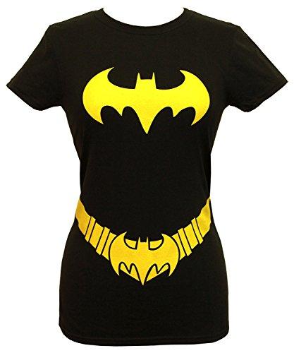 Nightwing Costume Shirt (Batgirl - Costume Juniors T-Shirt - Medium/Black)