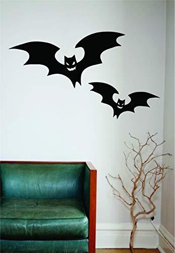 Halloween Bats Original Wall Decal Sticker Vinyl Art