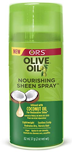 Sheen Spray - Organic Root Stimulator Olive Oil Sheen Nourishing Spray, 2 Ounce