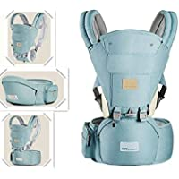 Ergonomic 360° Baby Soft Carrier, Comfortable Adjustable Positions,Breastfeeding Fits All Newborn Toddler ,HipSeat…