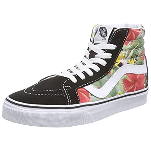 Mens floral shoes amazon vans mens digi aloha sk8 hi reissue blacktrue white sneaker 95 mightylinksfo
