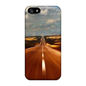 High-quality Durable Protection Case For Iphone 5/5s(flashing Country Road)