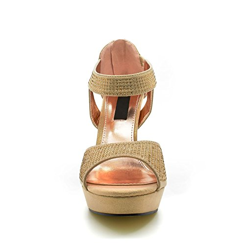 Semelle London Footwear Or Doré compensée femme Sgg7qw06