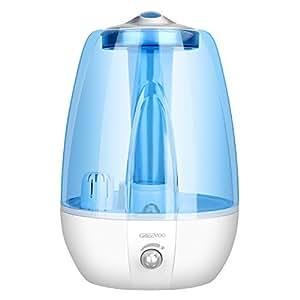 Amazon Com Ultrasonic Cool Mist Humidifier With Ceramic